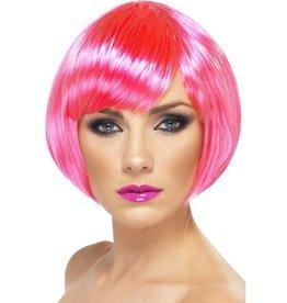 Babe Pruik Neon Pink