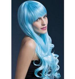 Fever Emily Pruik, 2 tinten blauw