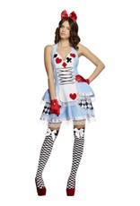Fever Miss Wonderland Kostuum