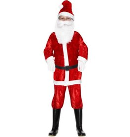 Mini Kerstman Kostuum, Rood