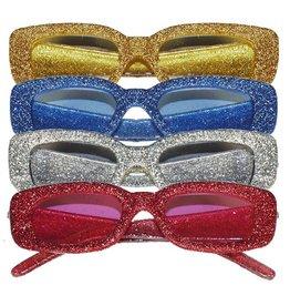Bril Disco glitter 4 assorti
