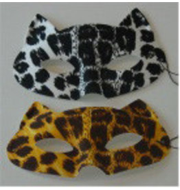 Oogmasker Luipaard assortie