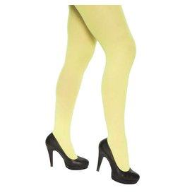 Panty fluor geel (60 denier)