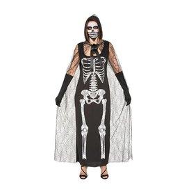 Skelettenjurk met mantel