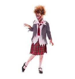 Zombie schoolmeisje