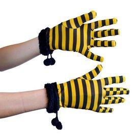 Handschoenen Bee zwart/geel