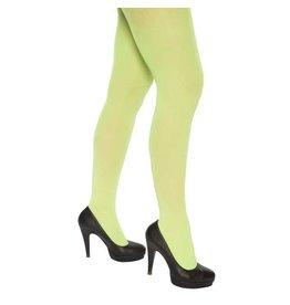 Panty fluor groen (60 denier)