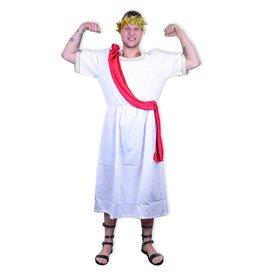 Nero kostuum met lauwerkrans