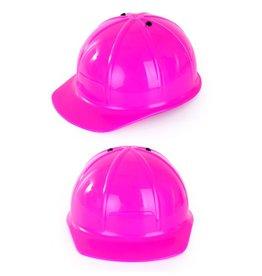Verstelbare Bouwhelm Pink/Roze
