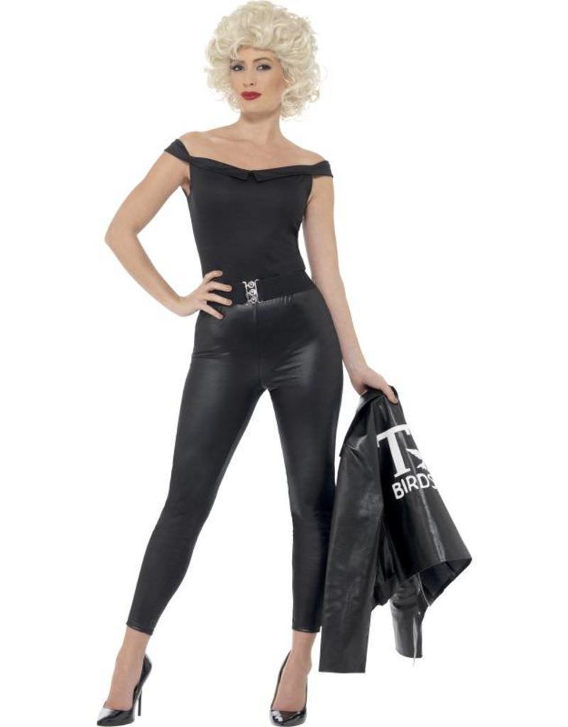 grote verscheidenheid aan stijlen 2020 speciaal voor schoenen Grease Sandy kostuum, zwart