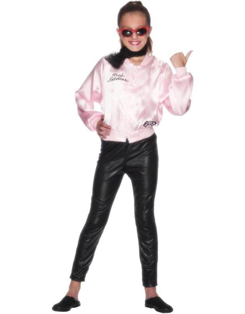Pink Met Al Ladies Grease Jasje De VerkleedzolderVoor LogoKind iPZTwlXOku