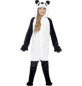Panda Kostuum, Zwart/Wit, Kind