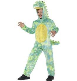 Deluxe Dinosaurus Kostuum, groen