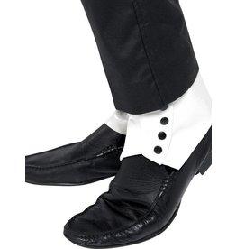 Schoenovertrekken, wit