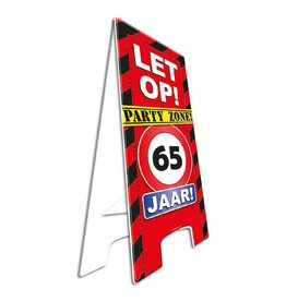 Warning Sign - 65 jaar