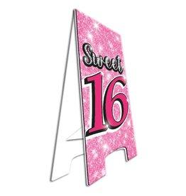 Warning Sign - sweet 16!