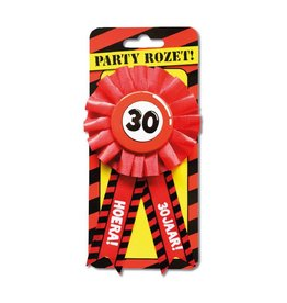 Party Rozetten - 30 jaar