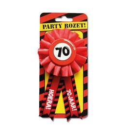 Party Rozetten - 70 jaar