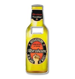 Flessenopener met magneet - Abraham