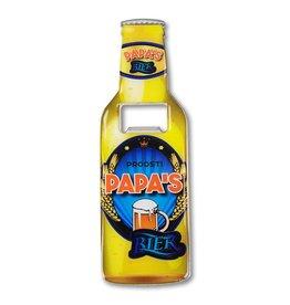 Flessenopener met magneet - Papa's