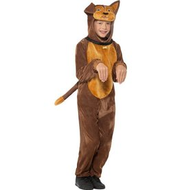 Hond Kostuum, Bruin, Kind