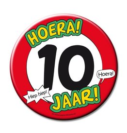 Button XL - 10 jaar