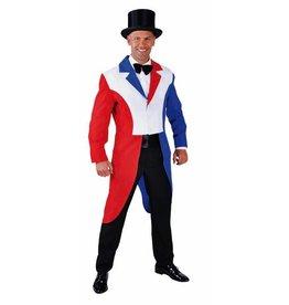 Slipjas rood/wit/blauw