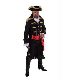 "Mantel ""Admiraal"", zwart"