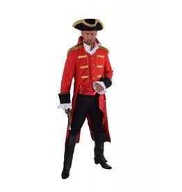 """Mantel """"Admiraal"""", rood"""