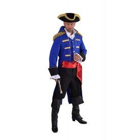 """Mantel """"Admiraal"""", blauw"""