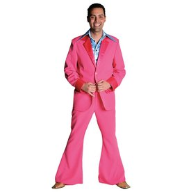 70's kostuum pink