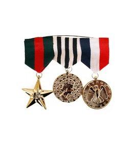 Medailles op kaart