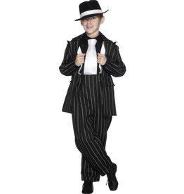 Gangster Zoot Kostuum, Zwart