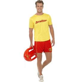 Baywatch Strand kostuum voor Heren