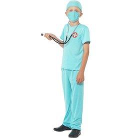 Chirurg Kostuum, blauw