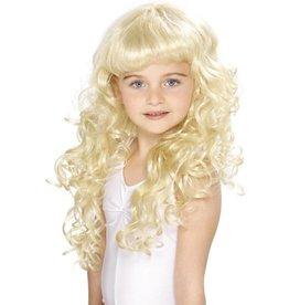 Prinsessen Pruik, blond voor meisjes