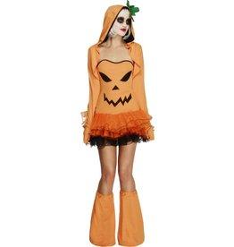 Fever Pompoen Kostuum voor Dames