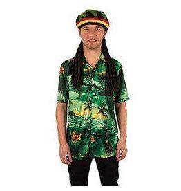 Hemd Hawai Groen