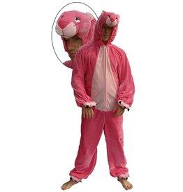 Kostuum Pluche Roze Panter