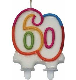 Nummerkaars Cijfer 60