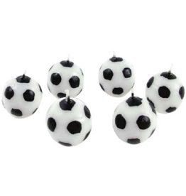 Voetbalkaarsjes Goal (6 stuks)