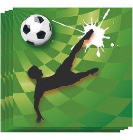 Servetten Goal (33x33cm, 20 stuks)