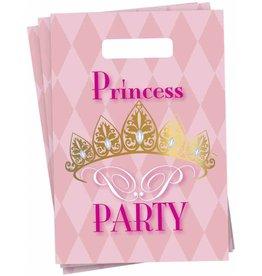 Uitdeelzakjes Princess (6 stuks)