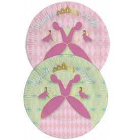 Bordjes Princess (23 cm, 8 stuks)