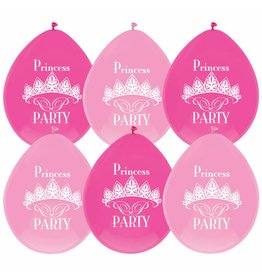 Ballonnen Princess (30 cm, 6 stuks)