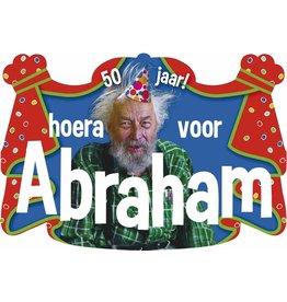 Kroonschild Hoera voor Abraham