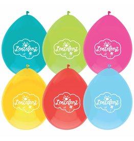 Ballonnen Lentefeest (6 stuks)