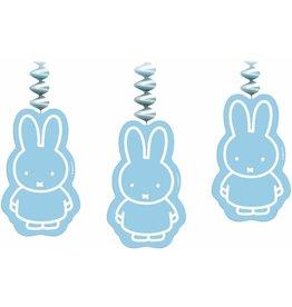 Rotorspiralen Nijntje Baby, Blauw (3 stuks)