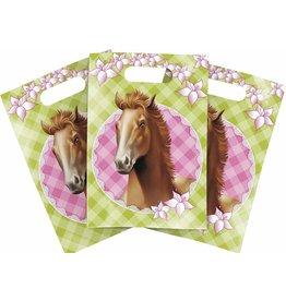Uitdeelzakjes Paarden (6 stuks)