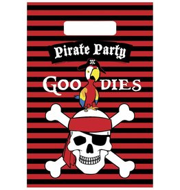 Uitdeelzakjes Piraten (6 stuks)
